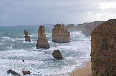 12 apostles i Australien