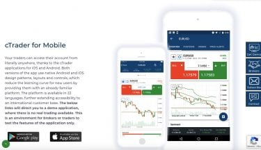 cTrader for mobile