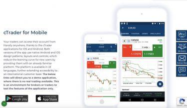 cTrader for mobile