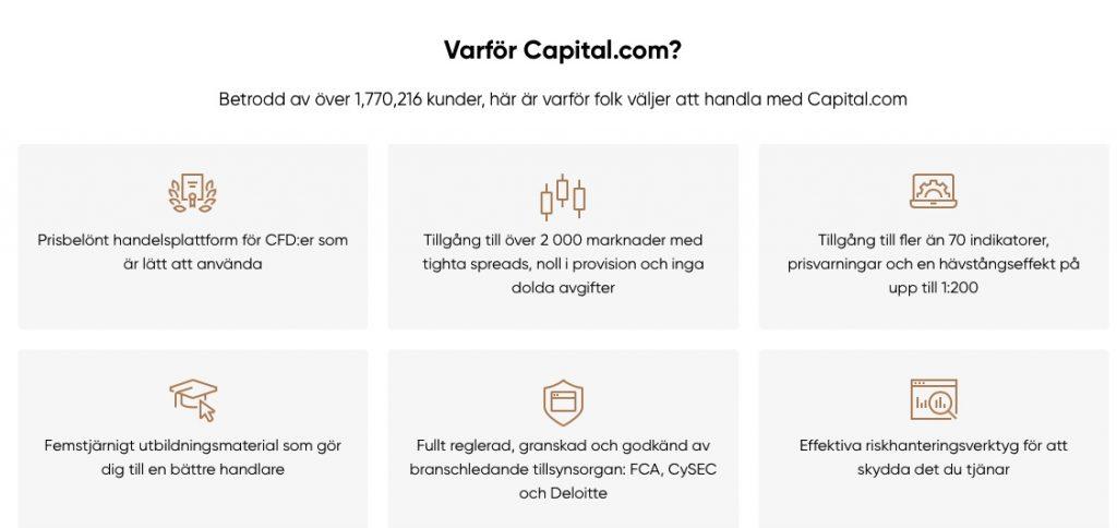 Varför Capital?