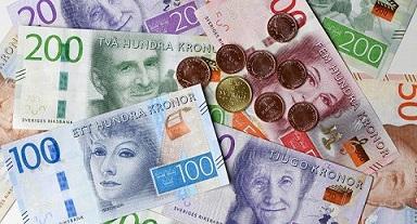 Nordisk trading, NOK och SEK under mitten av april