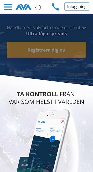 Ava Trade mobil