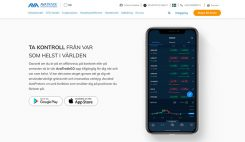 Ava Trade - kontroll med mobilen