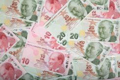 Turkisk lira valutahandel
