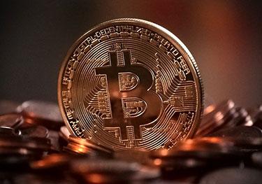 Bitcoin: Kopparfärgad