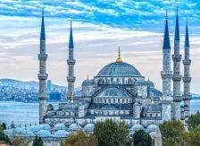 Blå Moskén i Istanbul