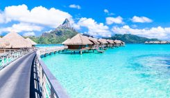 Bora Bora på Tahiti