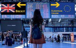 Brexit EU flygplats