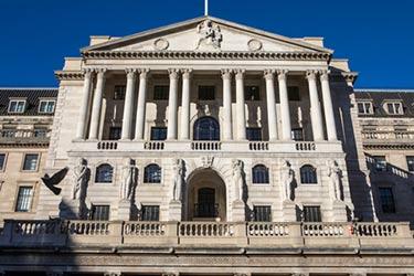Brittiska centralbanken - utsidan