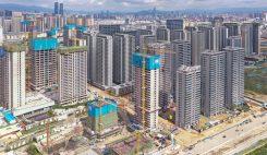 Byggområde i Kina