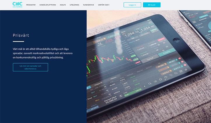 Nyheter om CMC Markets