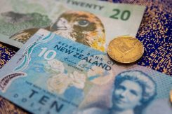 NZD valuta kiwidollar