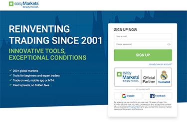EasyMarkets: Reinventing trading