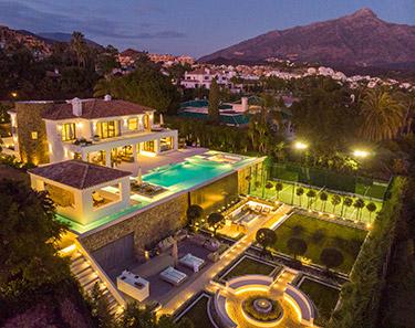 Elise: Villa i Marbella