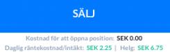 EUR/USD sälj