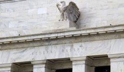 Fågel ikon på Federal Reserve i USA