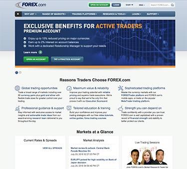 Forex-com år 2015 - så såg webbplatsen ut!