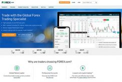 Forex.com's startsida 2019