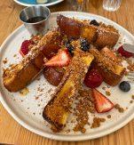 French Toast på Heim Cafe