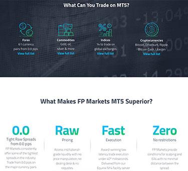 FP Markets genom MT5