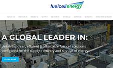 Fuel Cell Energy's hemsida