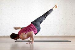 Fysisk yoga på proffs nivå