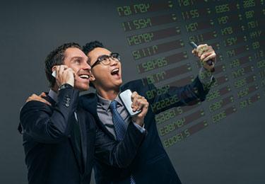 Aktiehandlare som vunnit på börsen