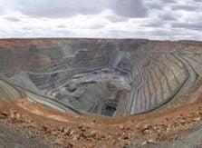 Guldgruva - bryter guld