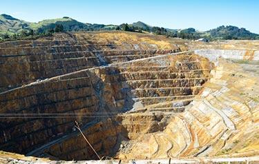 Guldgruva på Nya Zeeland