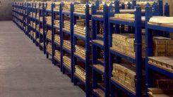 Lager av guldreserver