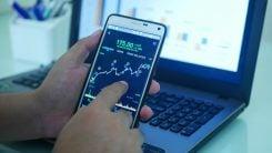 valutahandel från mobil