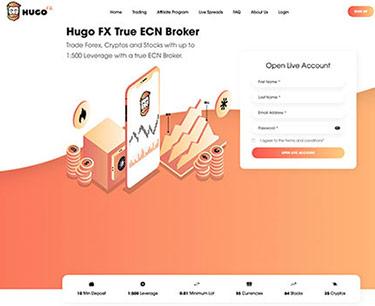 Hugo Fx: Startsidan