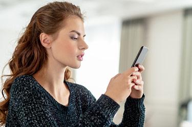 Investeringstjejen på mobil