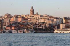 Istanbul på eftermiddagen