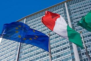 italien och eurozonen