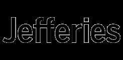 Jeffries svart logo