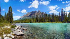 Kanada: berg och sjöar