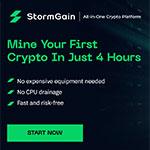 Krypto brytning med Stormgains plattform