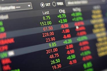 Tickande kurser över valutapar