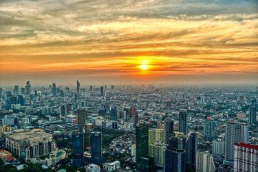 Thailand Bangkok utsikt