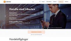 Libertex hemsida