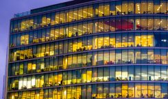 London - En byggnad