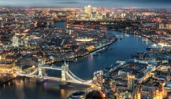London från ovan