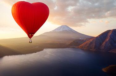 Luftballong i Japan