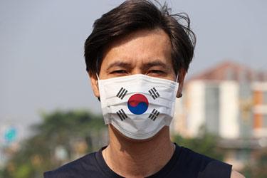 Mask i Sydkorea