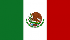 Mexico flagga