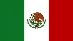 Mexico flagga