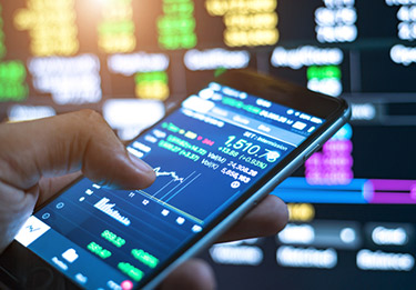 Modern valutahandel från mobilen