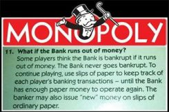 Monopol pengar