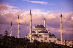 Turkiet moské